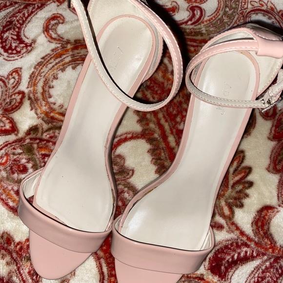 Kohls Size 10m Plush Pink High Heels